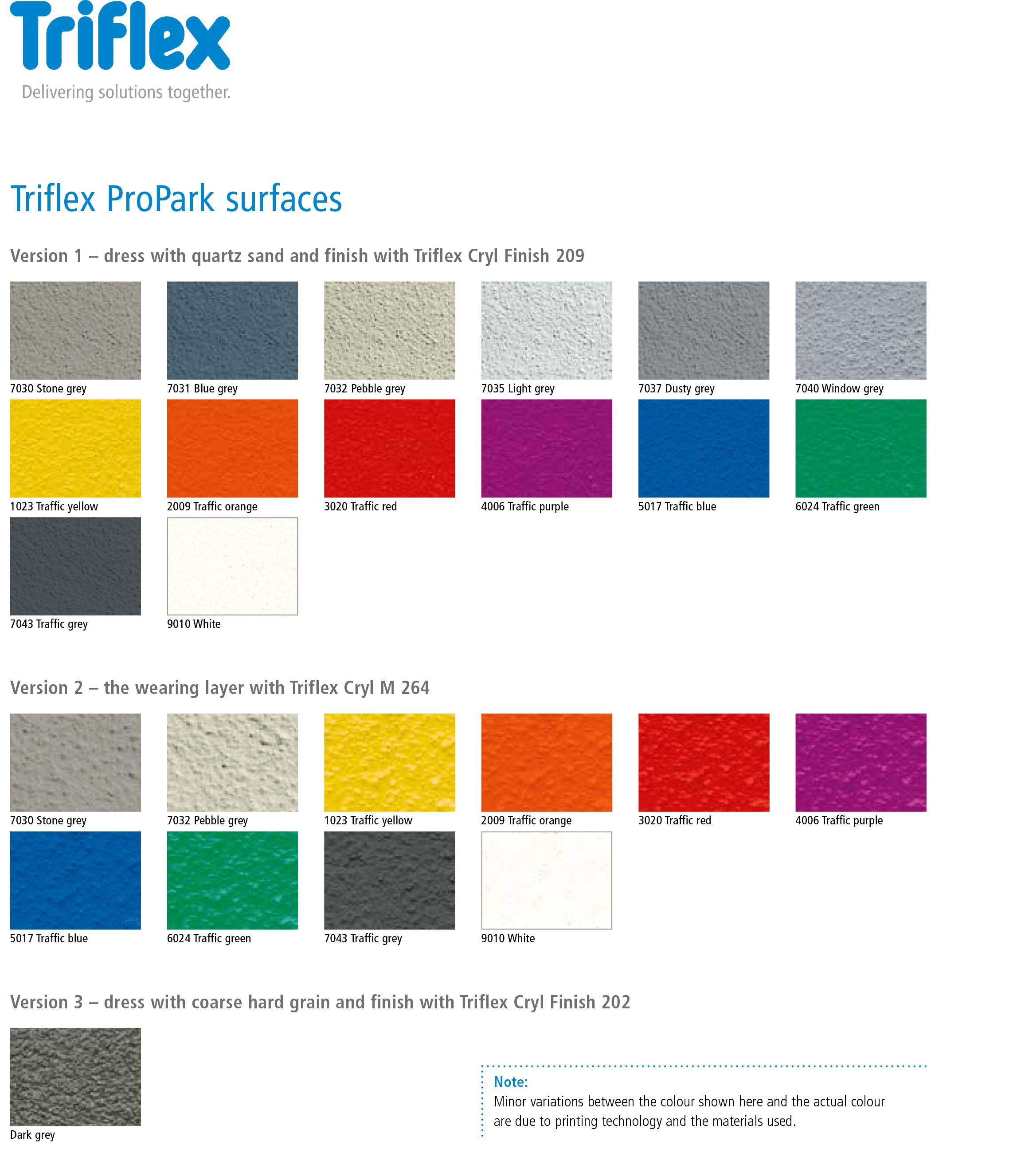 ProPark_Colours