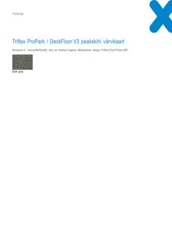 Triflex ProPark_DeckFloor v3 värvikaart