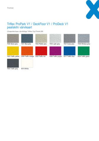 Triflex ProPark DeckFloor ProDeck v1